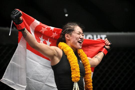 Five Lions Proudly Flying The Singapore Flag On MMA's Global Stage