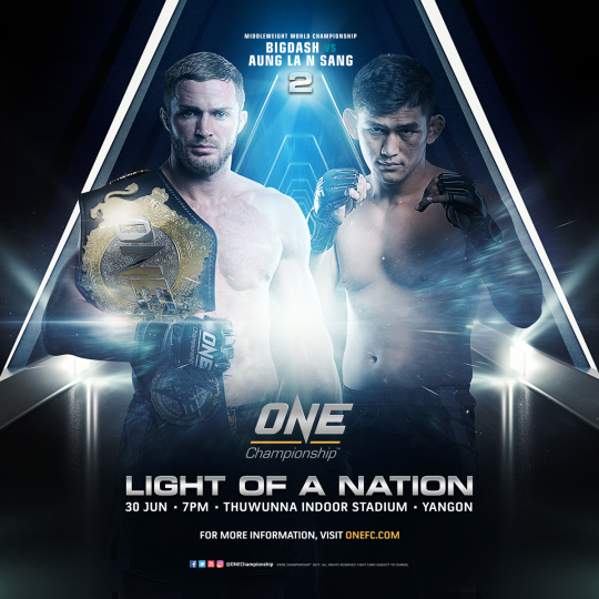 Vitaly Bigdash and Aung La N Sang Set For Action-Packed Rematch