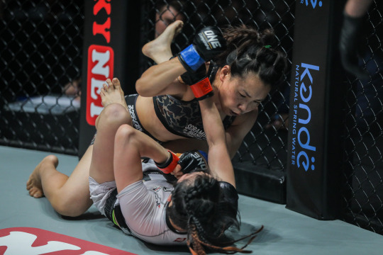 In A Battle Of Former Title Contenders, Mei Yamaguchi Submits Jenny Huang