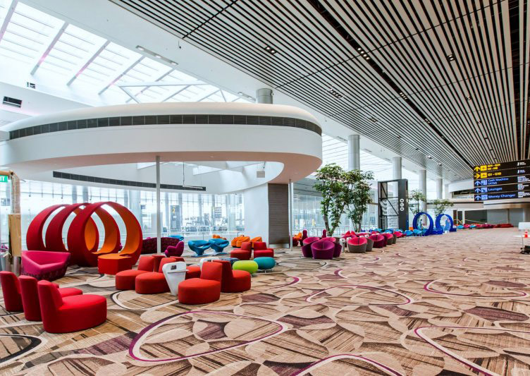 Free tours of changi airport 39 s new terminal 4 before it for Action salon singapore
